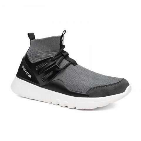 Buy Fall and Winter New Elastic PU Leather Soles Casual Fashion Shoes