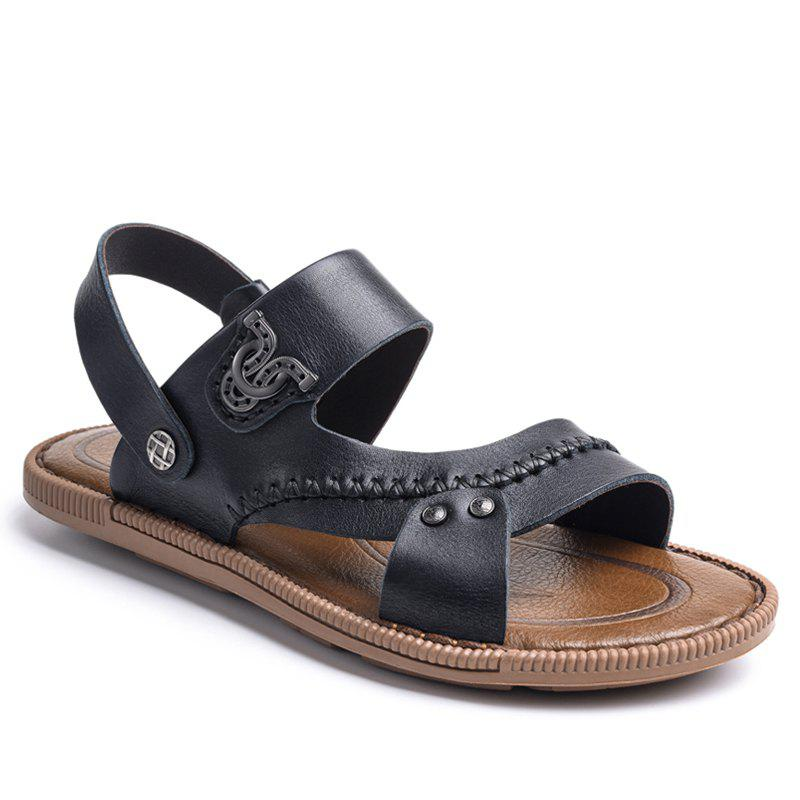 Chic Latest Design Mens Sandal for Summer Season Leather Sandal