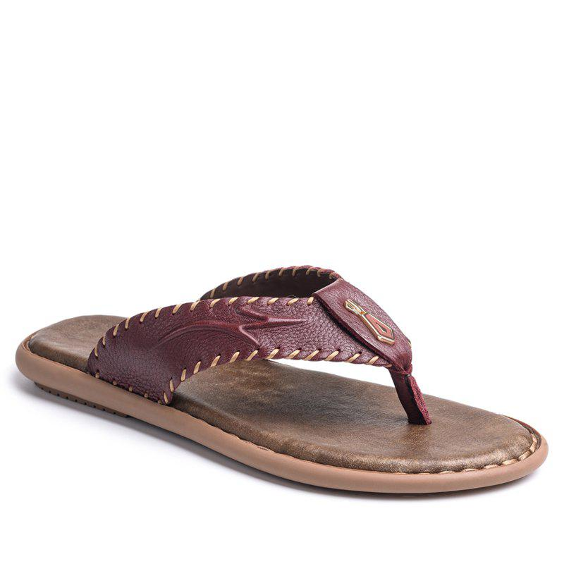 Shops Top Selling Beach Thick Sole Flip Flop Slippers for Men