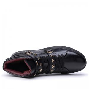 Men Casual Fashion Outdoor Leather Warm Shoes -