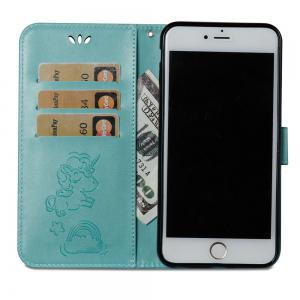 For Iphone 6plus Cartoon Embossed Horse And Cloud Two-sided Cell Phone Protection Sleeve -