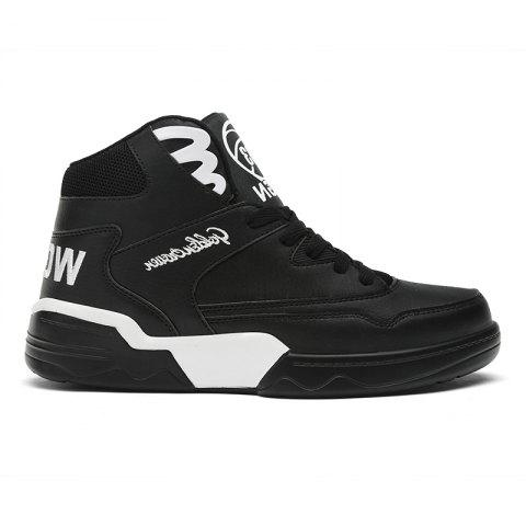 Trendy New Style Men Upper Cut Up Skate Shoes