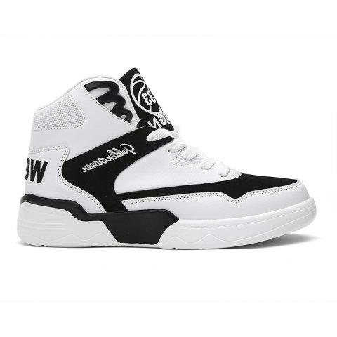 Store New Style Men Upper Cut Up Skate Shoes