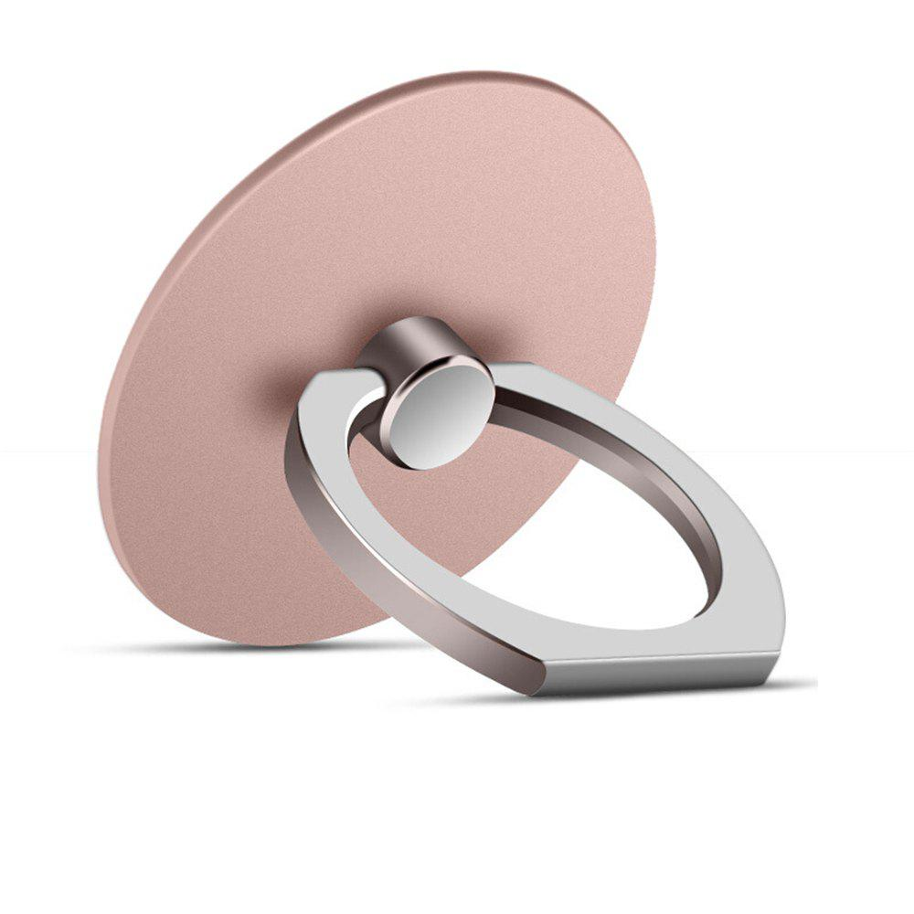 Rose Gold 360 Degree Round Finger Ring Mobile Phone Smartphone Stand ...