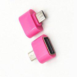 New and High Quality Micro USB to USB2.0 OTG Expansion Adapter For Cell Phone Android Interface -