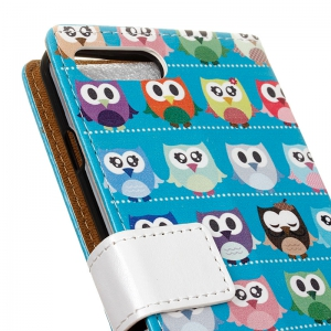 Cover Case for Huawei Honor V10 Painted Tone Leather -
