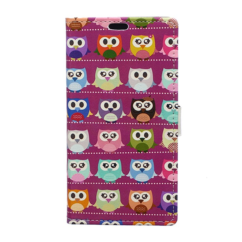 Fashion Cover Case for Huawei Honor V10 Painted Tone Leather