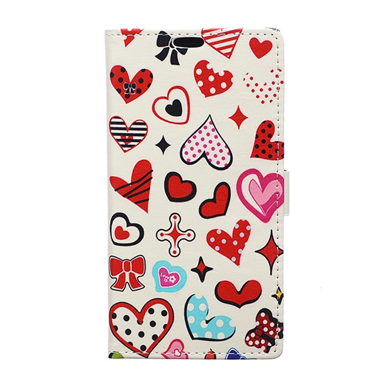 Online Cover Case for Huawei Honor V10 Painted Tone Leather