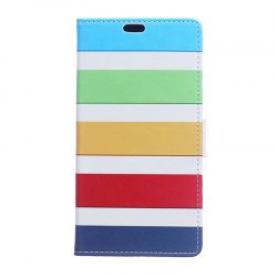 Cover Case for Huawei Nova 2S Painted Tone Leather -