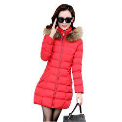 Women's Fashion with Thick Warm Coats -