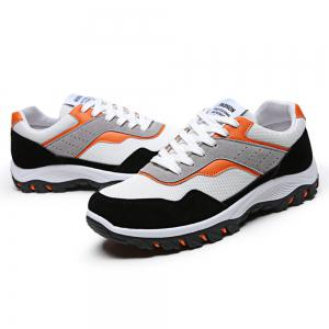Men'S Fashion Breathable Mesh Insert Athletic Shoes -