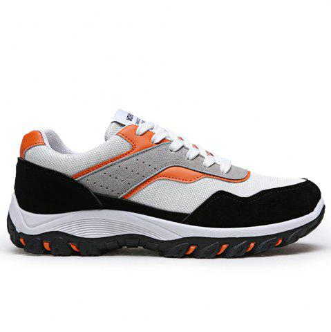 Chic Men'S Fashion Breathable Mesh Insert Athletic Shoes