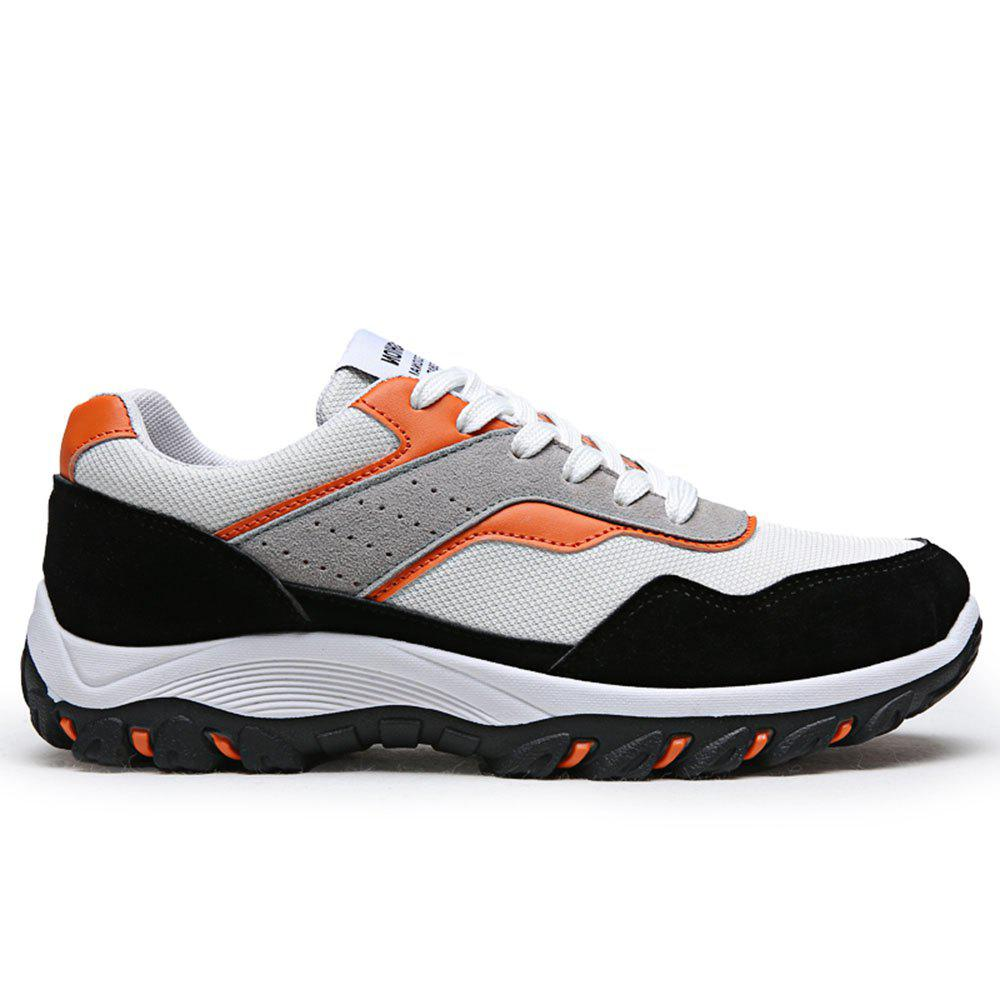 New Men'S Fashion Breathable Mesh Insert Athletic Shoes