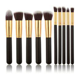 10PSC Makeup And Make Up Tool Make Up Brush Suit -
