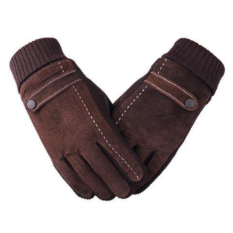 Chic Gloves for Men Cycling and Motorcycles To Prevent Cold and Warm in Winter