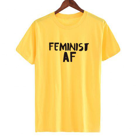 Shops 2018 New Summer Letter Print Married AF Cotton Women's  T-shirts