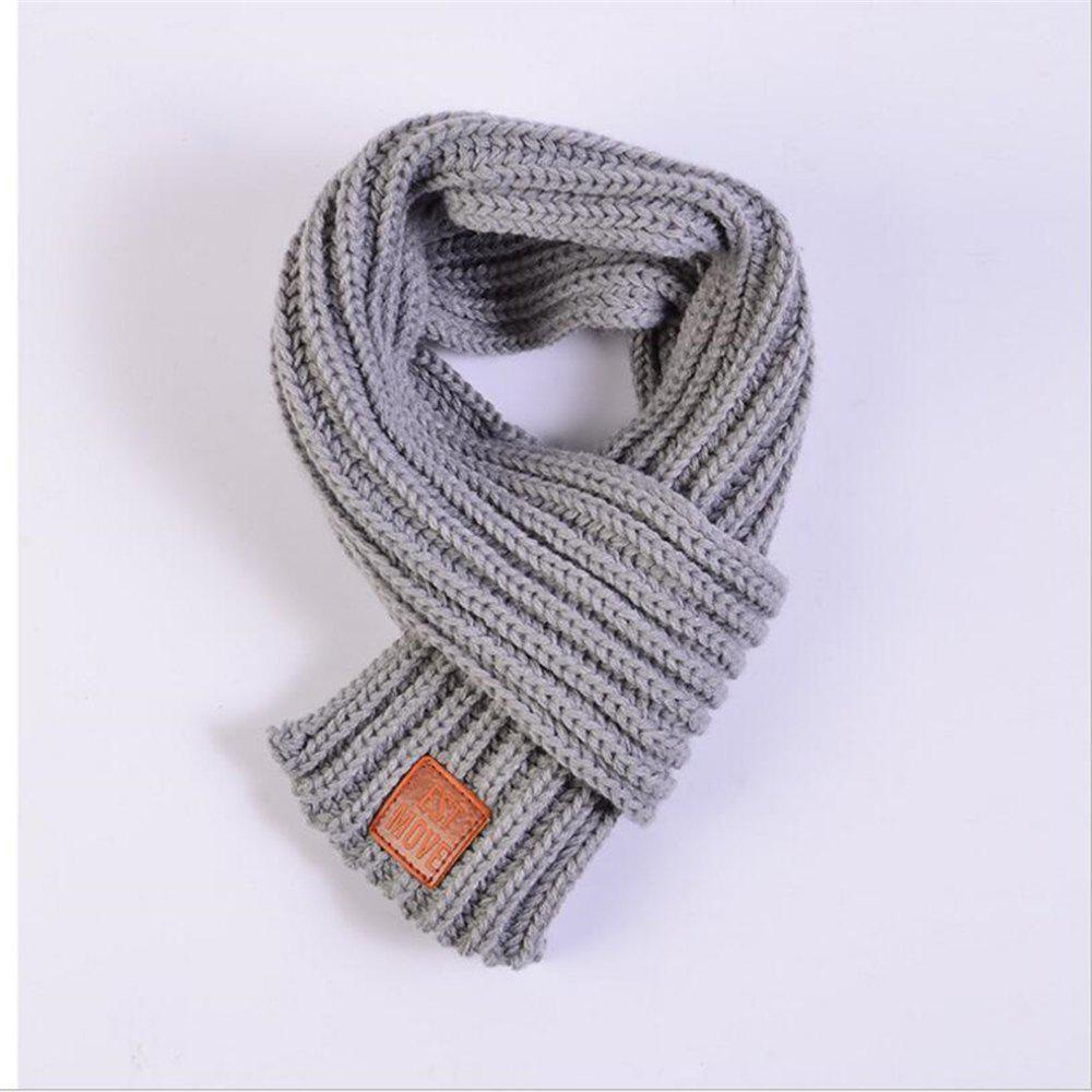 155de9770 2019 Knitted Scarf Kids Winter Warm Shawls And Scarves For Children ...