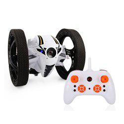 2.4GHz Remote High Jump Car Rotate 360 Degrees with LED and Music Gift -