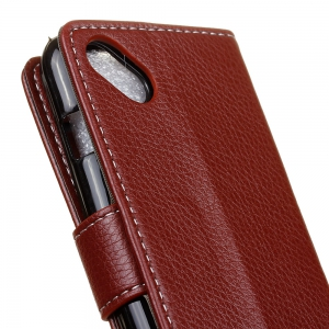 Cover Case For Wiko Sunny Sunset 2 Litchi Pattern PU Leather Wallet Case -