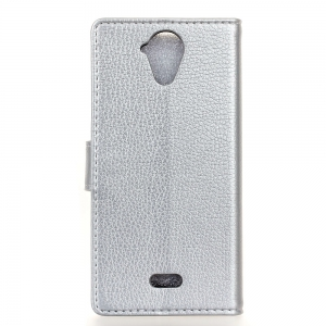 Cover Case For Wiko U Feel Lite Litchi Pattern PU Leather Wallet Case -
