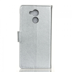 Cover Case For Huawei Honor 6C Pro Litchi Pattern PU Leather Wallet Case -