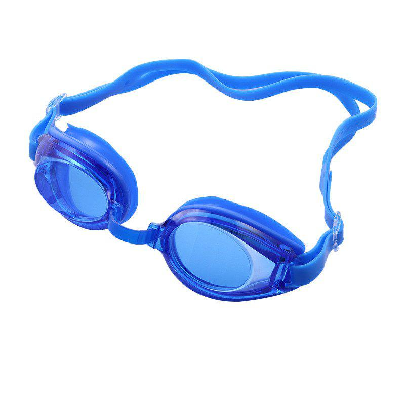 Chic Swimming Goggles Mirror Coated Lenses Anti Fog Shatterproof UV Protection Swimming Glasses