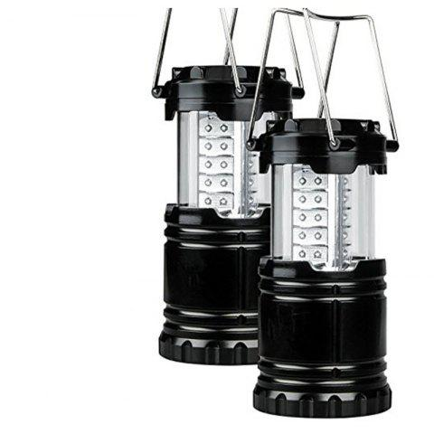 Latest Portable Outdoor Battery Powered Camping Lantern Survival Kit for Emergency Hurricane Storm Power Outage  Camping