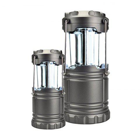 Shops Portable Outdoor Battery Powered Camping Lantern Survival Kit for Emergency Hurricane Storm Power Outage  Camping