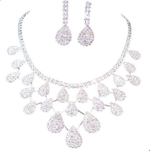 Jewelry Set Bridal Necklace Earrings Contracted Factory