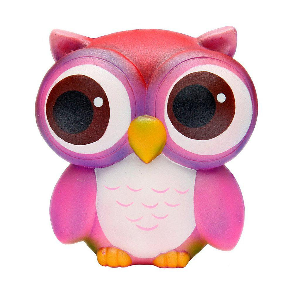 Cheap Big Eye Owl Slow Rising Scented Jumbo Squishy Stress Relief Squeeze Decorations Toy Gift Fun