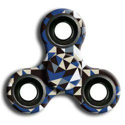 Interesting Stress Relief Toy Camouflage Finger Spinner -