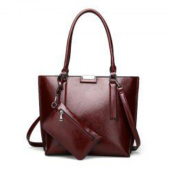 Shoulder Bag Fashionable Women'S Bag Simple Handbag -