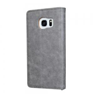 Для Samsung S7 Edge Clamshell Rotary Card Wallet Leather Case -