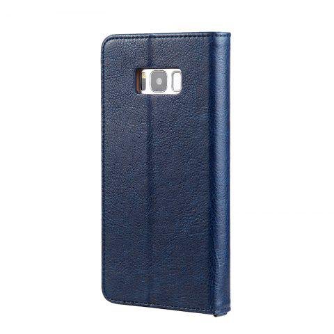 Pour Samsung S8 Clamshell Rotating Card Sac à main