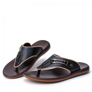 Men Sandals Summer Outdoor Beach Fashion Flip Flops Men High Quality Casual Men'S Slippers -