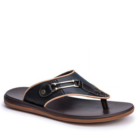 Online Men Sandals Summer Outdoor Beach Fashion Flip Flops Men High Quality Casual Men'S Slippers