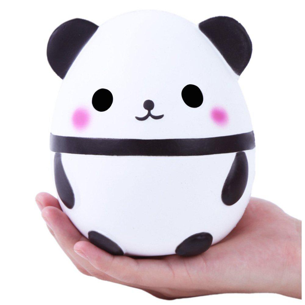 Store Cute Squishy Slowing Rising Simulation Panda Egg Soft Scented Squeezed Decompression Toys
