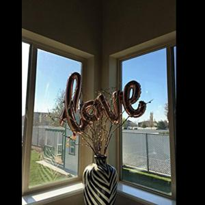 Love Balloon Banner Celebration Balloon Hanging for Wedding Party Decoration -