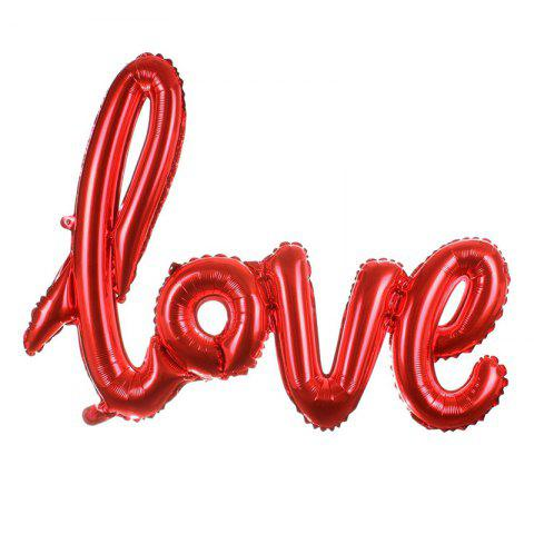 Chic Love Balloon Banner Celebration Balloon Hanging for Wedding Party Decoration