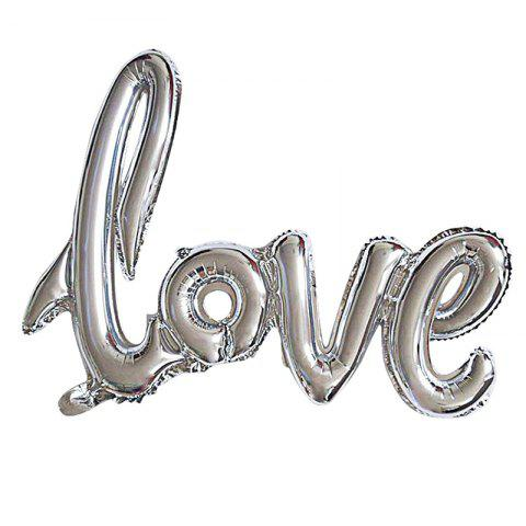 Outfit Love Balloon Banner Celebration Balloon Hanging for Wedding Party Decoration