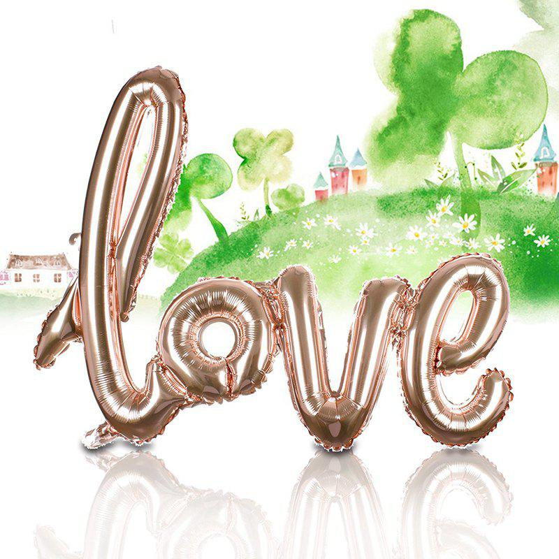 Outfits Love Balloon Banner Celebration Balloon Hanging for Wedding Party Decoration