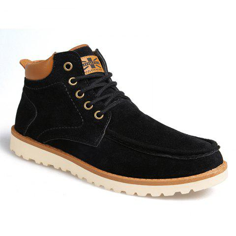 Chic Autumn Winter High Top Sneakers Men's Casual Ankle Boots Martin Boots