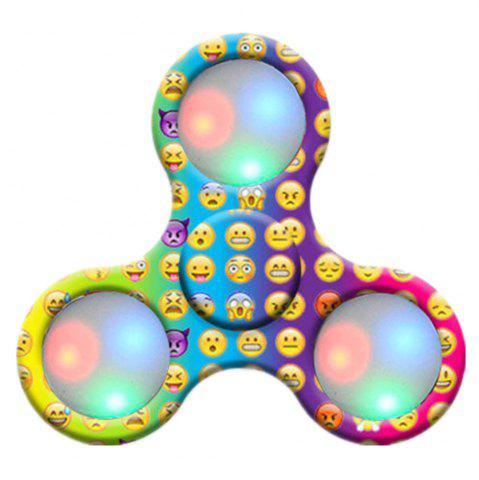 Hot Spinner Finger Toy  with LED Light Stress Reducer Relieve Anxiety