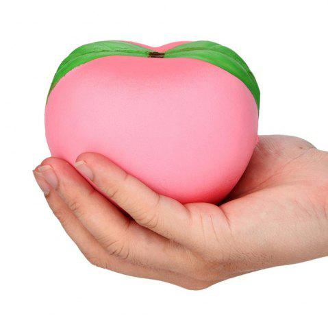 Sale Peach Shape Pull Stretch Squishy Keep Calm Squeeze Stress Relief Toy