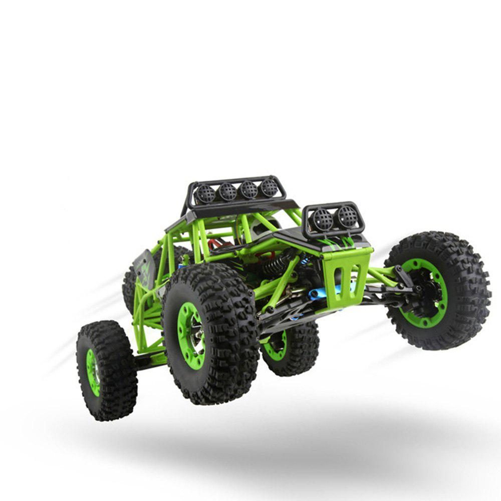 Latest WLtoys 1:12 4WD 2.4G High Speed RC Off-road Car with LED Light RTR