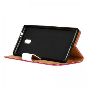 Cover Case for Samsung Galaxy J2 Pro 2018 Painted Tone Leather -