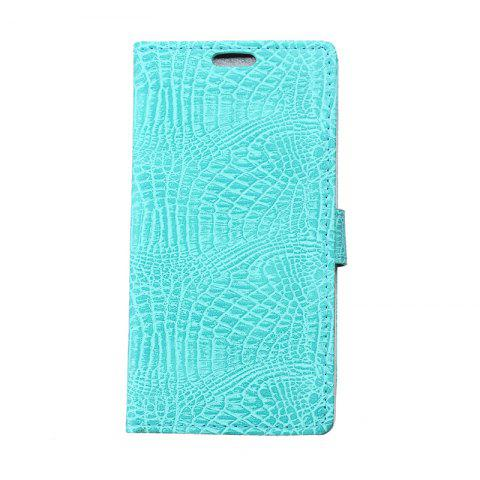 Outfits Cover Case for Samsung Galaxy J2 Pro 2018 Retro Crocodile Pattern Leather