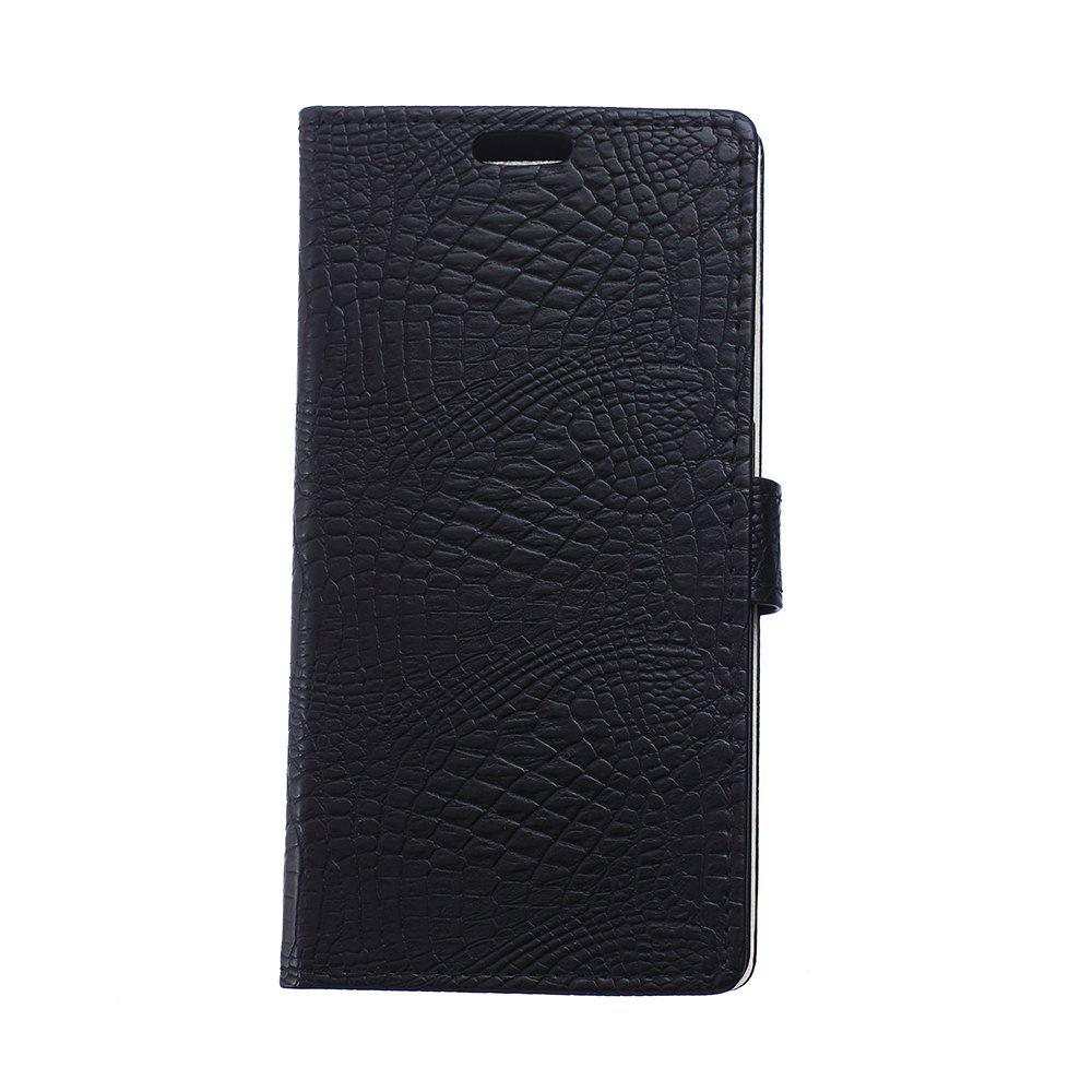 Fashion Cover Case for Samsung Galaxy J2 Pro 2018 Retro Crocodile Pattern Leather