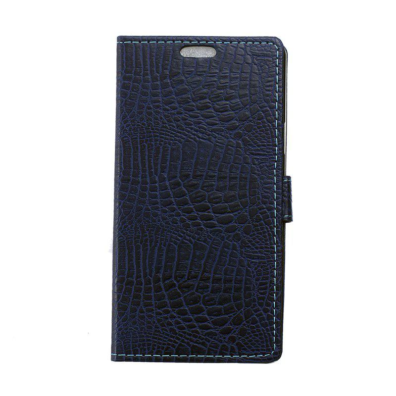 Shops Cover Case for Samsung Galaxy J2 Pro 2018 Retro Crocodile Pattern Leather