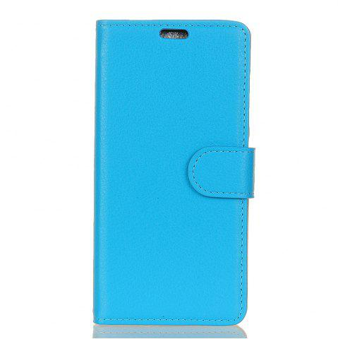 Outfit Cover Case for Samsung Galaxy J2 Pro 2018 Pure Color Litchi Leather